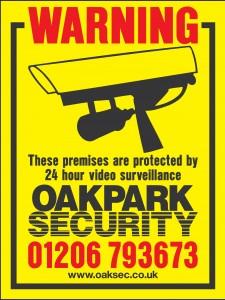 Oakpark CCTV Board