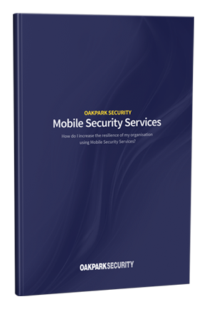 Download our FREE guide to  Mobile Security Services